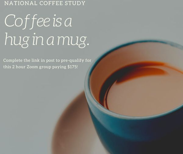 ONLINE FOCUS GROUP USA Coffee Study